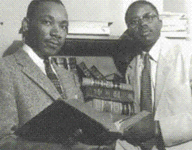 MLK and Fred Gray