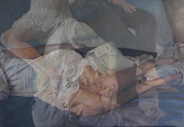Paintings based on double exposures, by Pakayla Biehn 19_5177541549294ffa3b39b