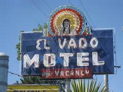 El Vado Motel on Route 66 in Albuquerque, New Mexico