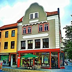 "The so called ""Berliner Warenhaus"" in Ilmenau."