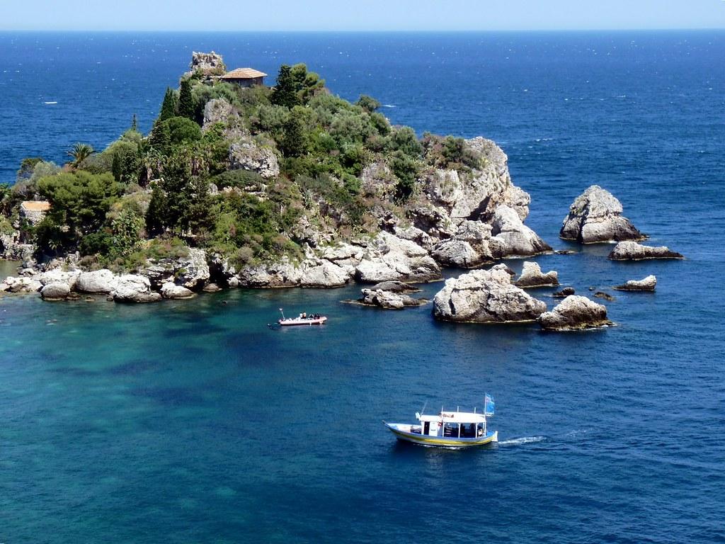 Taormina - Blue sea