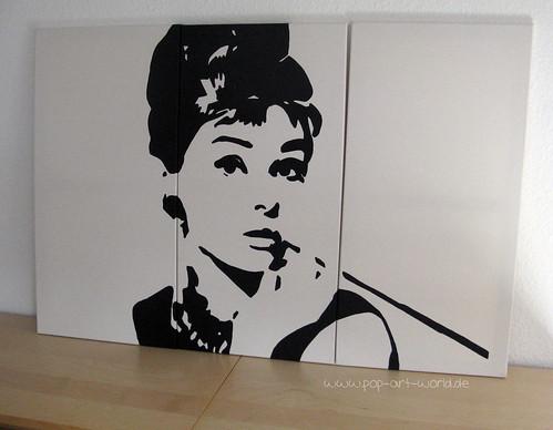audrey hepburn pop art a photo on flickriver. Black Bedroom Furniture Sets. Home Design Ideas