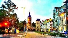The Karlsplatz at #Eisenach #city on #today's #evening.