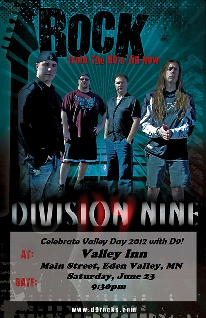 06/23/12 Division Nine @ Valley Inn, Eden Valley, MN