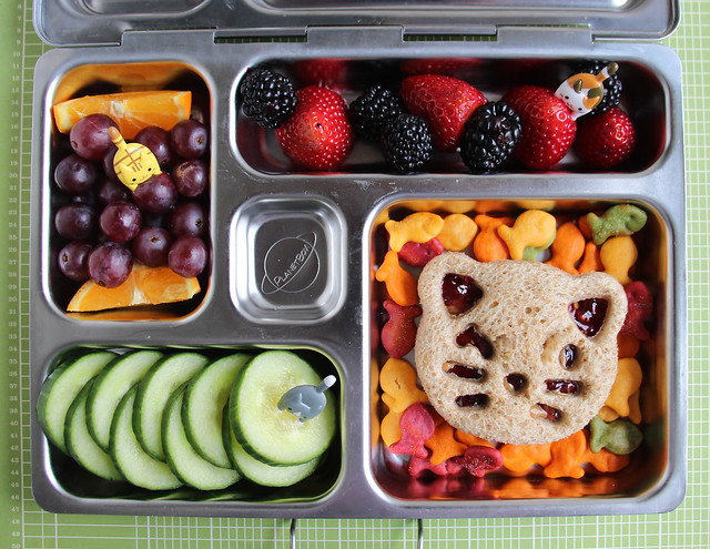 Preschool Kitty Bento Bento #615