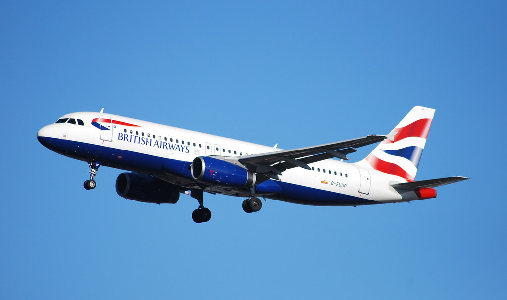 G-EUUP A320 British Airways