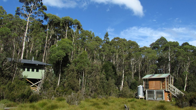 Day 5: Bert Nichols Hut and the loo
