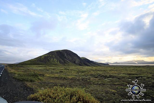 ISLANDIA - Laugarvatn (sur)