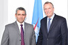 Dr Jorge Luis Perdomo, Vice-Minister Cuban Ministry of Communications and Malcolm Johnson, Geneva - 26 May 2016