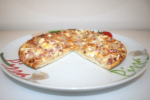 07 - Dr. Oetker Ristorante Pizza Carbonara - Angeschnitten