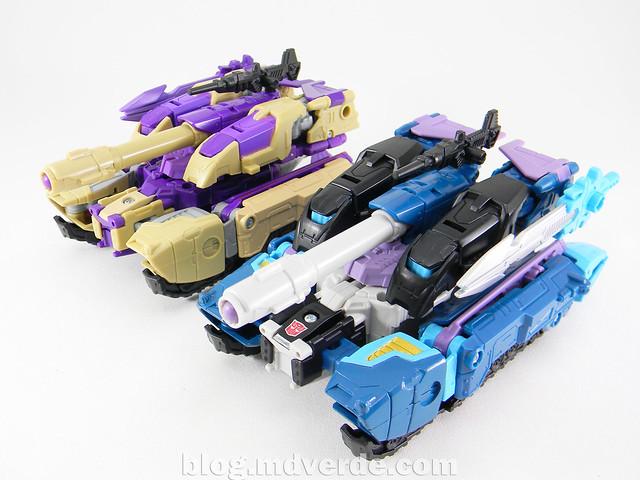 Transformers Doubledealer Voyager - Generations - modo tanque vs Blitzwing