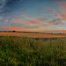 Sunset in Wilson, Kansas