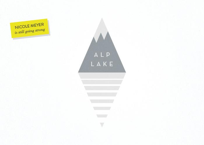 Nicole Meyer Branding 10,000 Lakes Alp Lake Glass and Sable