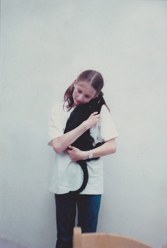 me aged 12 with figaro
