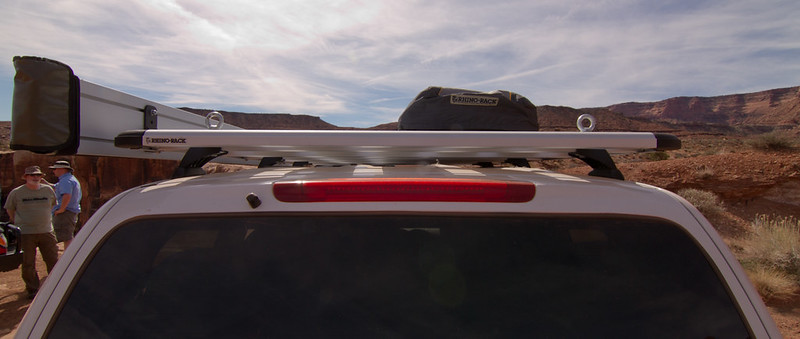 Rhino Rack Pioneer Platform Foxwing Awning And Luggage