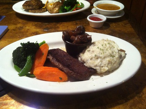 Sirloin Steak Dinner by raise my voice