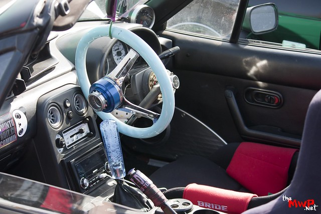 Mint's Mazda MX5 Interior