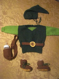 legend of zelda baby outfit