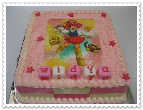 Minky Momo by DiFa Cakes