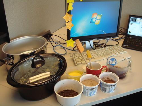 Cubicle Baking: Mise En Place