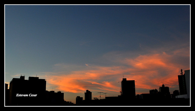 SUNRISE IN GOIÂNIA CITY - BRAZIL -