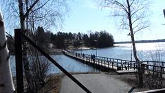 Bridge to museum island