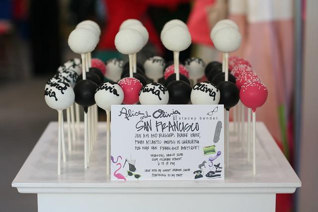 Alice + Olivia Cake Pops