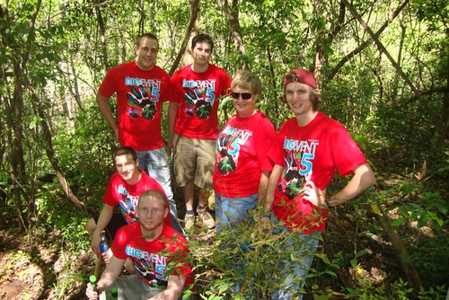 Coates Bluff Trail / Beth Leuck, volunteers from Centenary College by trudeau