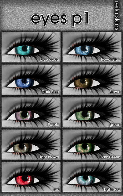 Reila Skins - Eyes P1