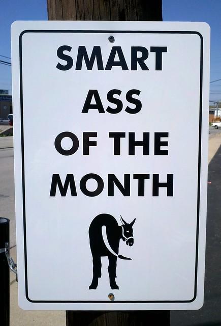 Big smart ass