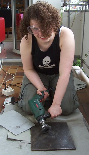 me with the power tools