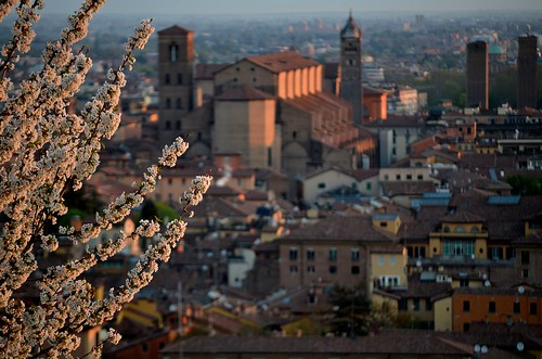 Postcard from Bologna at sunrise