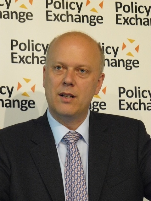 Minister for Employment Rt Hon Chris Grayling MP at Labour Market 2020