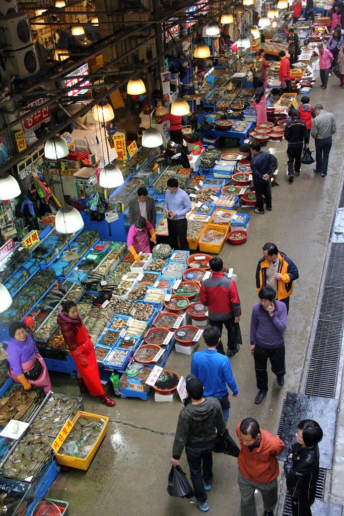Seoul's Noryangjin Fish Market