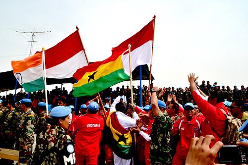 Satgas TNI di Lebanon Juara Dua Volly Tingkat UNIFIL