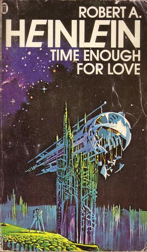 Time Enough For Love by Robert A. Heinlein. NEL 1979. Cover artist Bruce Pennington