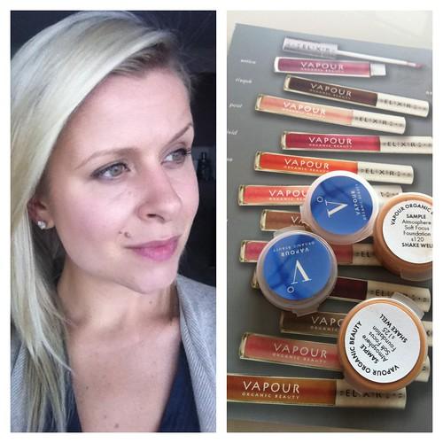 vapour organic makeup