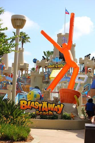 Blastaway Beach at Wet n Wild Orlando