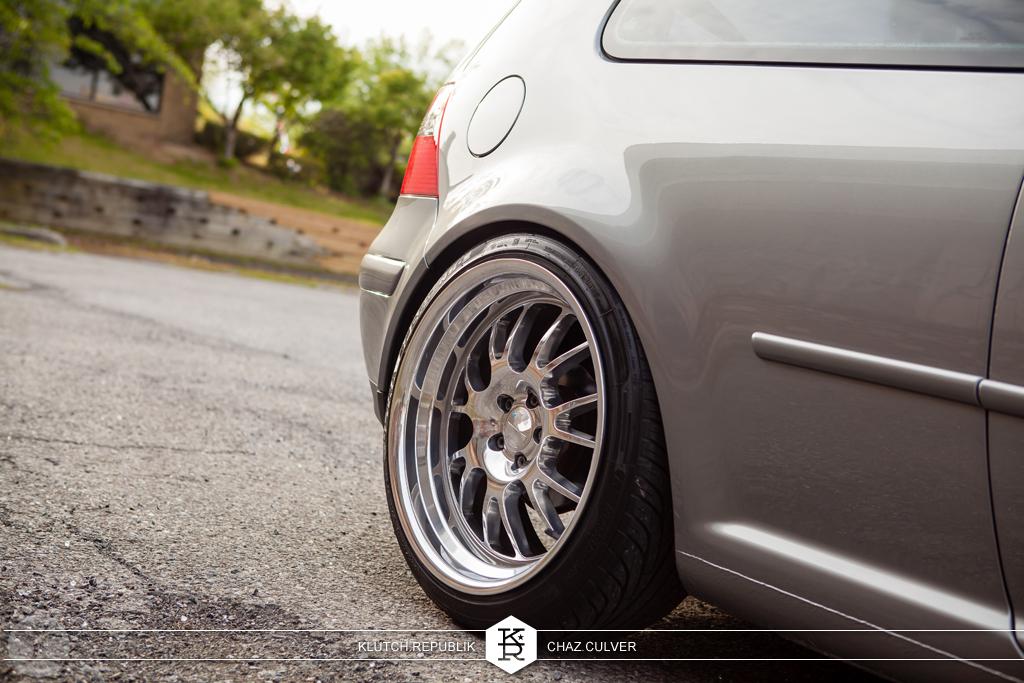 silverstone mk4 vw gti static low stanced fitment on klutch wheels SL14 see on klutch republik