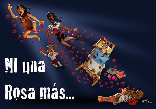 NI UNA ROSA MÁS... by alter eddie