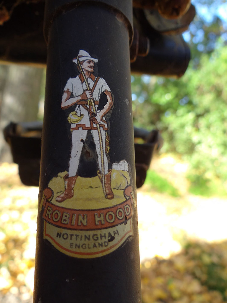 Robin Hood - old Raleigh bike