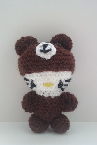Bear hello kitty