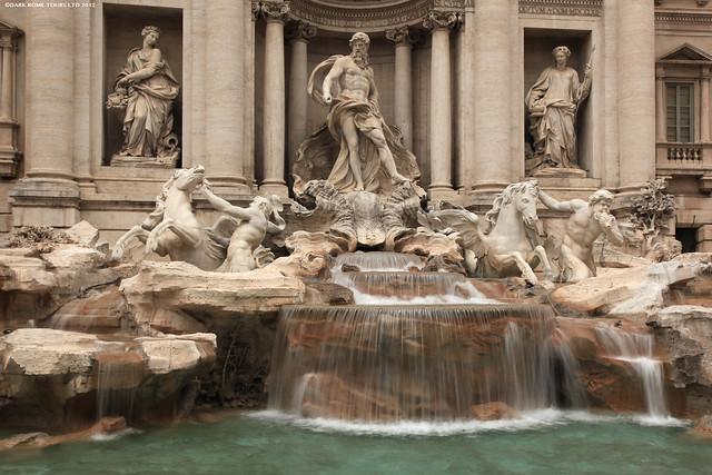 Trevi Fountain - Flickr CC darkrometours