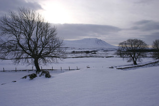Ingleborough New Year's Eve 2009