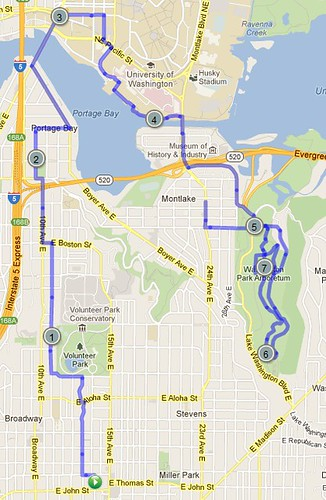 Today's awesome walk, 7.67 miles in 2:26 by christopher575
