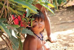 an Embera Indian Girl