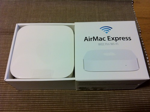 New AirMac (Airport) Express