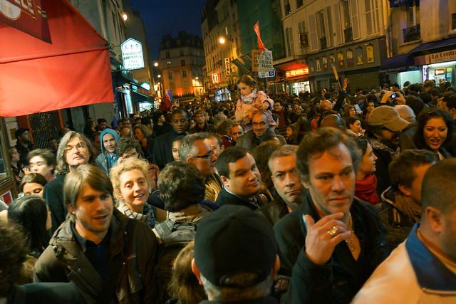 Paris-Election Day-Place de la Bastille, 5-6-2012-No 5