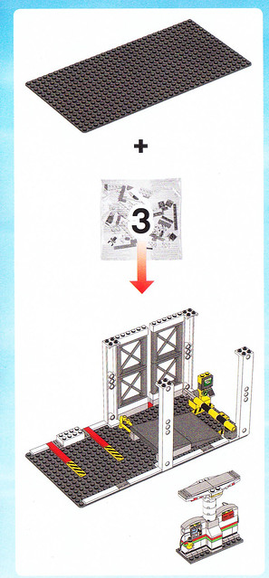 lego city garage 4207 instructions
