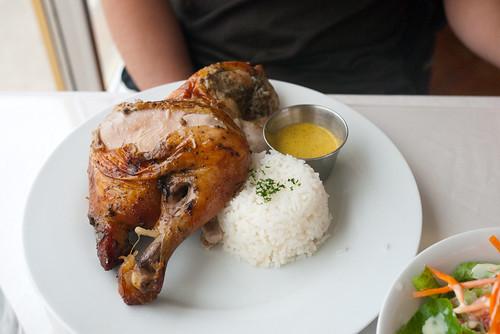 Half-Rotisserie Chicken @ Inti